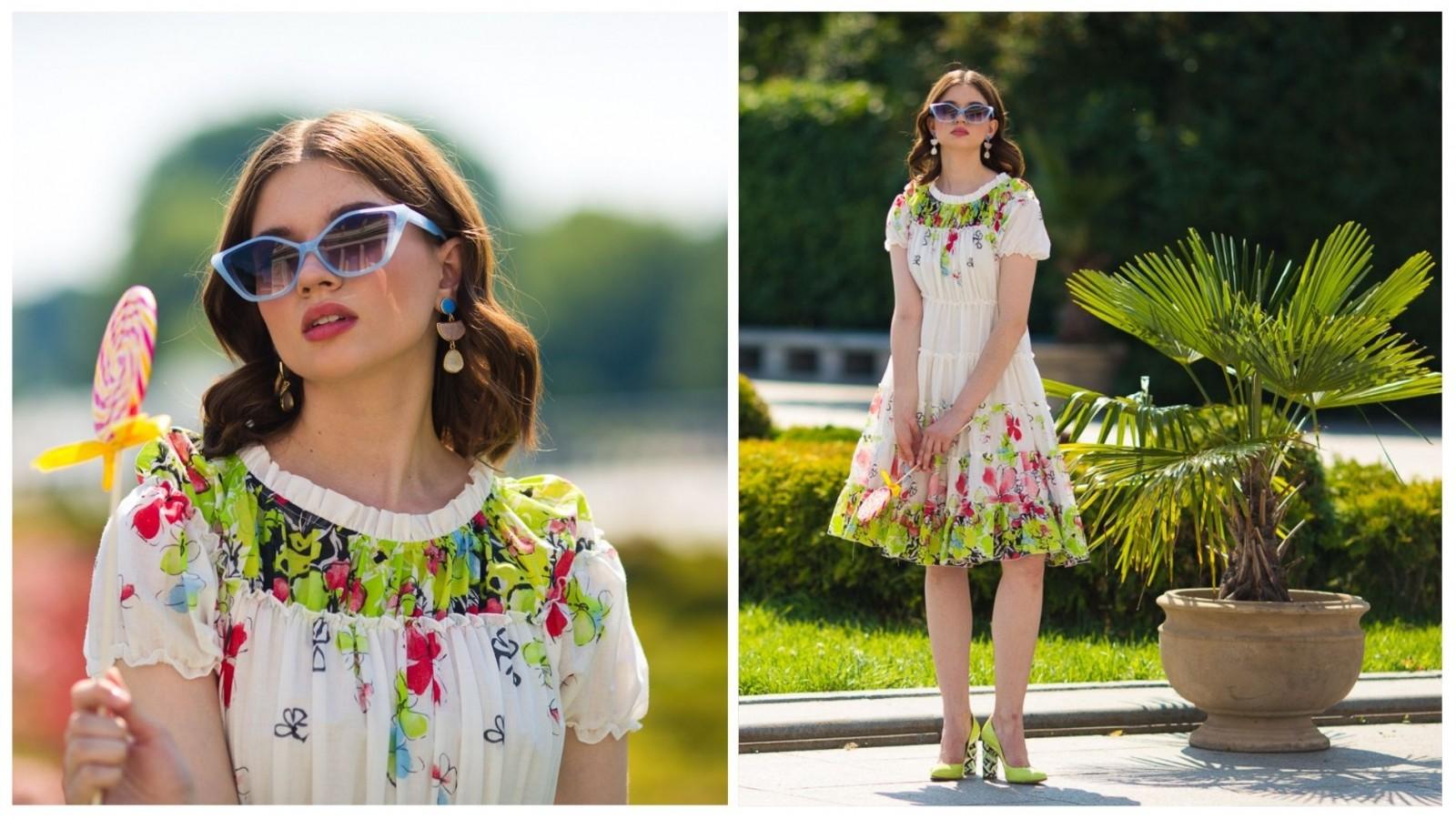 Платье Весна, стоимость 6500₽.