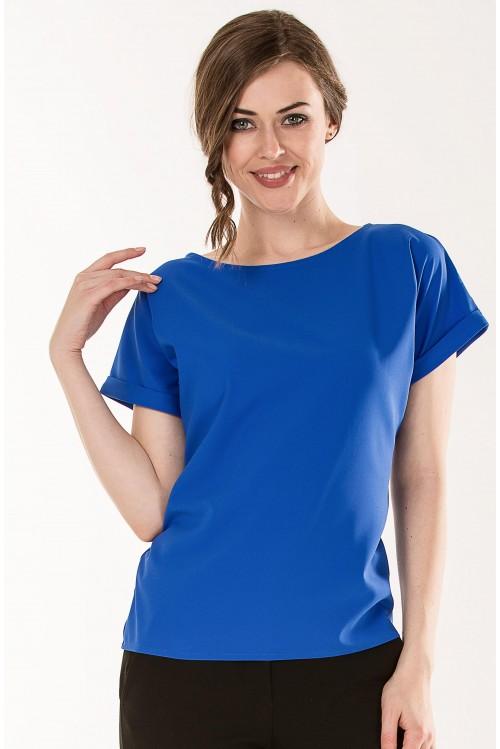Блузка Алена (синий)