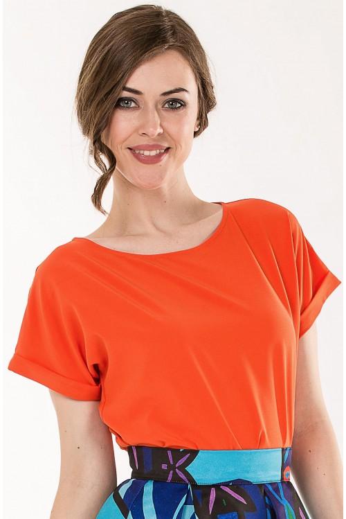Блузка Алена (оранжевый)