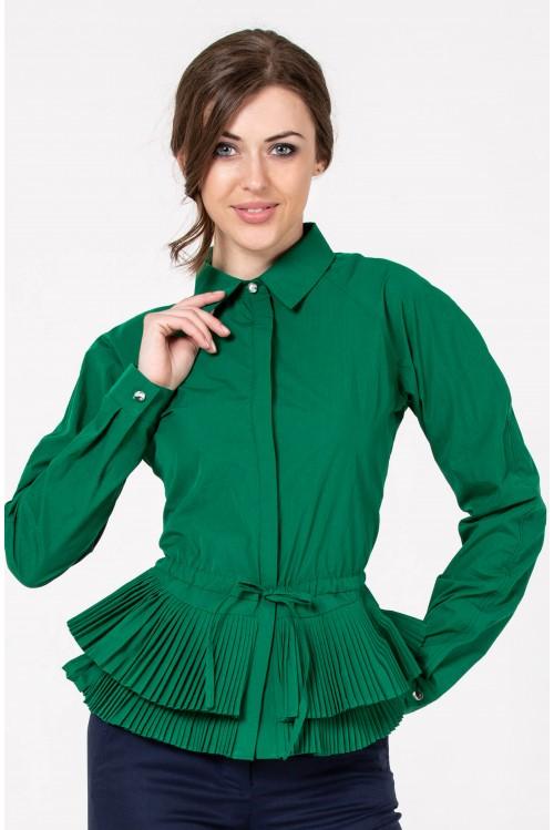 Блузка Кетрин (зеленый)