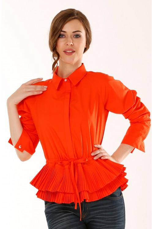 Блузка Кетрин (оранжевый)