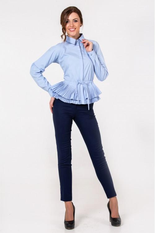 Блузка Кетрин (голубой)