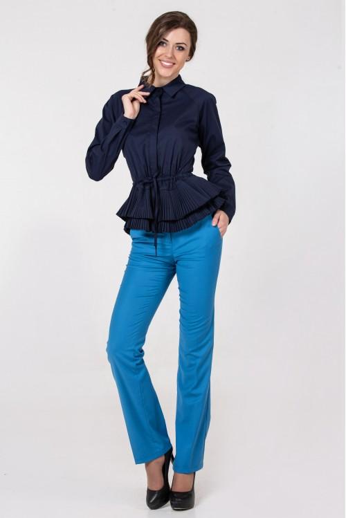 Блузка Кетрин (синий)