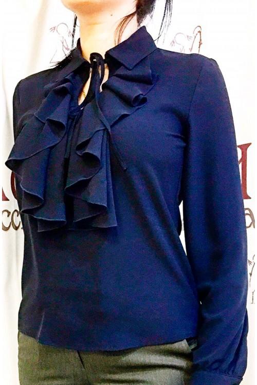 Блузка Лилу (синий)