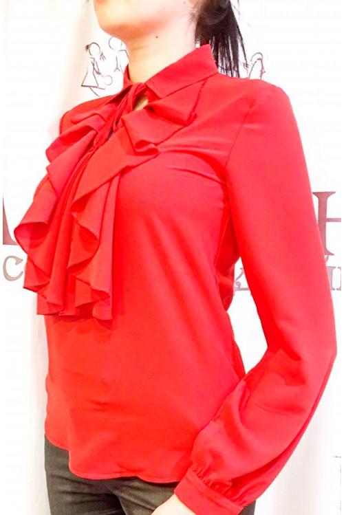 Блузка Лилу (красный)