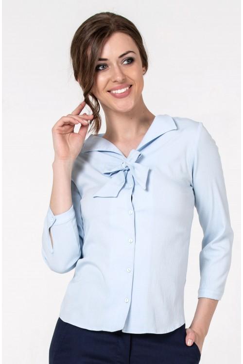 Блузка Шарлотта (голубой)