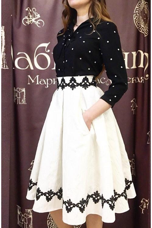 Блузка Шарлотта (черный)