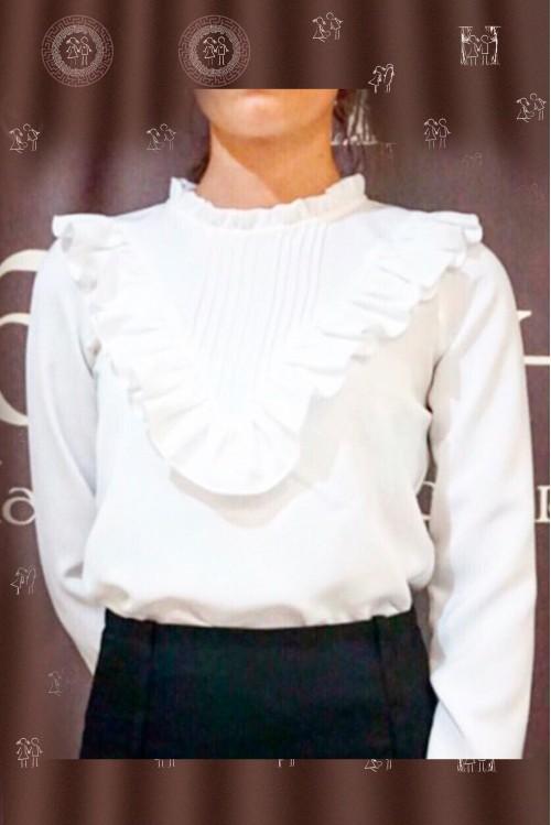 Блузка Виола (белый)