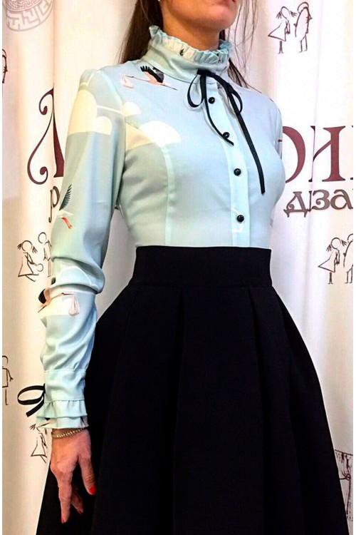 Блузка Жанна (Принт)