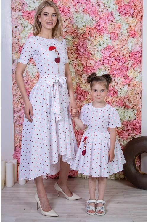 Look - Платье Морской шлейф
