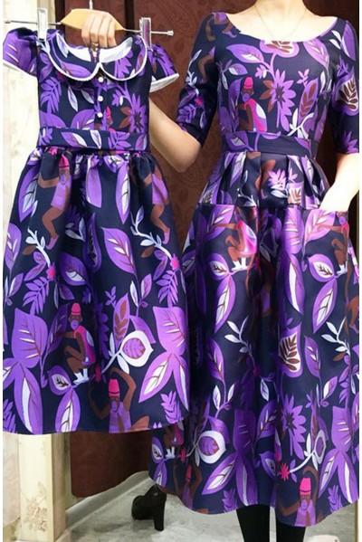 Платье Эмма (Обезьянки)