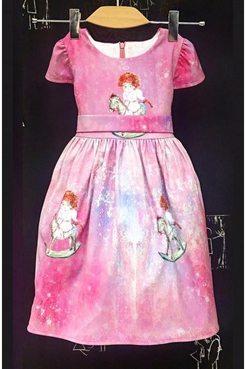 Платье Ангел на лошадке