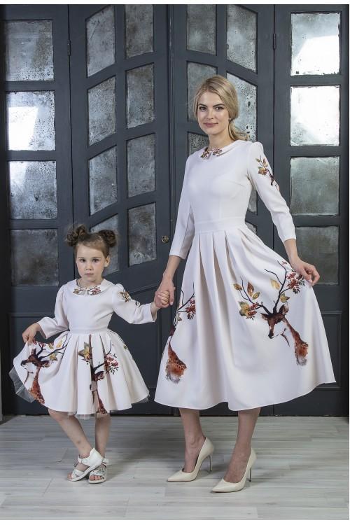 Look - Платье Олеся (Осенний Олень)