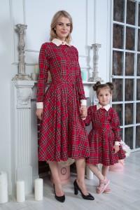 Look - Платье Сафари (Клетка)