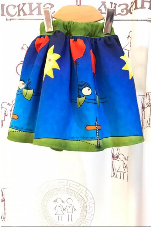 Детская юбка (Два Сердца)