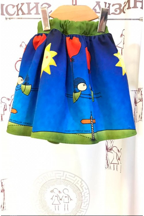 Детская юбка (Принт)