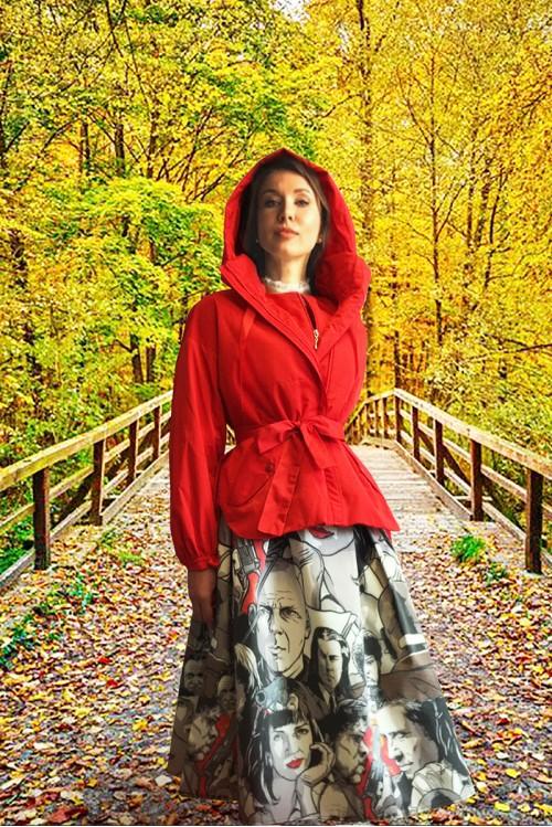 Куртка Мери (Красный)