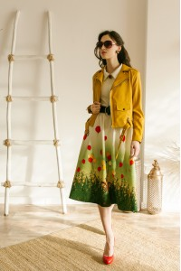 Куртка-косуха, Платье Марина (Девочка на велосипеде)