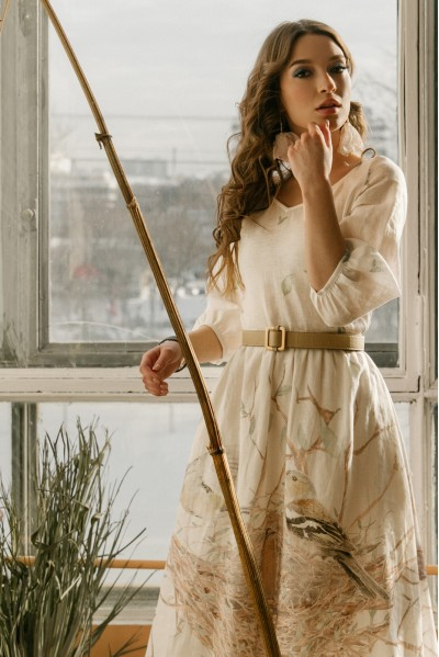 Платье Новая бабочка (Гнездо)