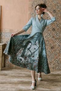 Платье Фаина (Девушка и лошадь)