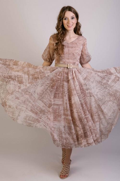 Платье Очарование (Штрихи)
