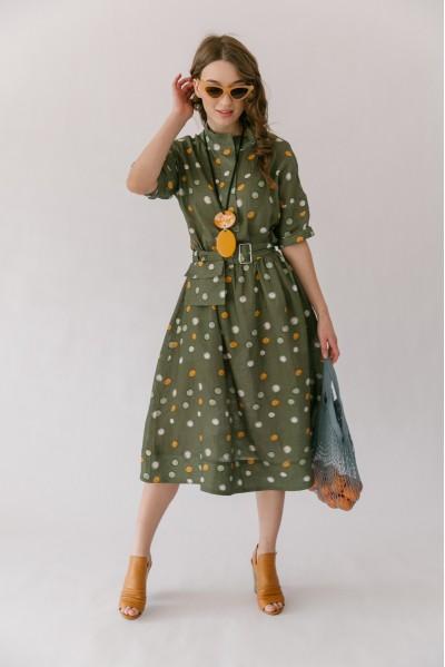 Платье Елена (Облепиха)