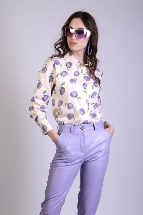 Рубашка Саша (Слива)