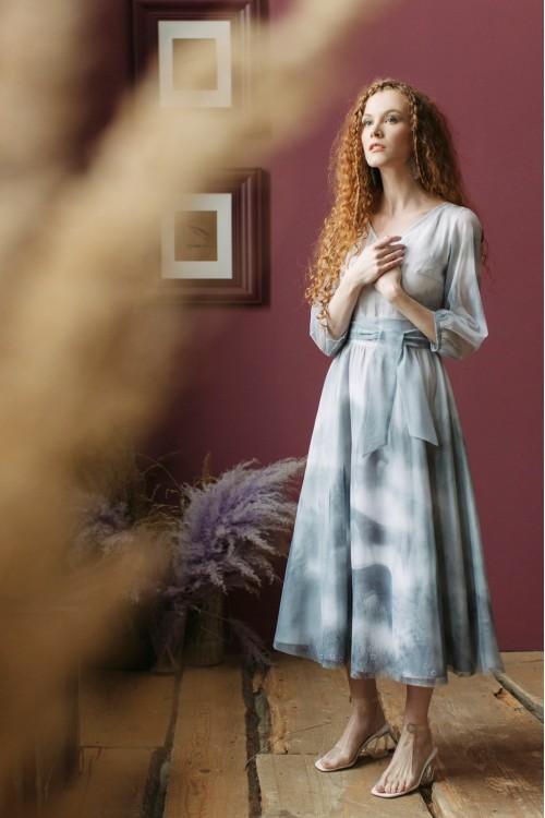Платье Очарование (Лошади в тумане)