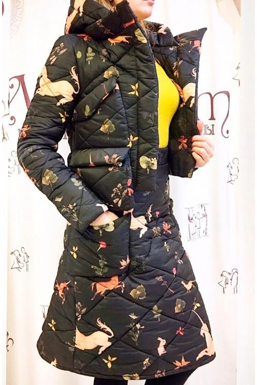 Пуховая куртка Лайма (Единорог)