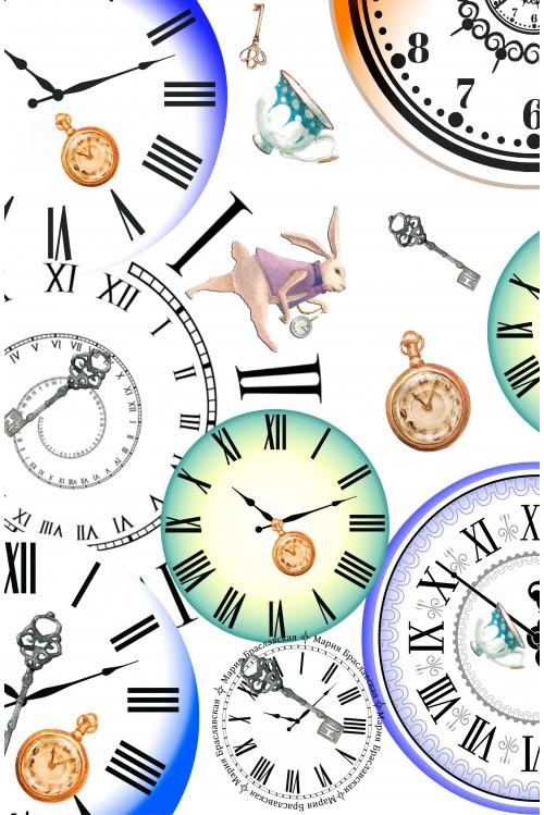 Принт Часы