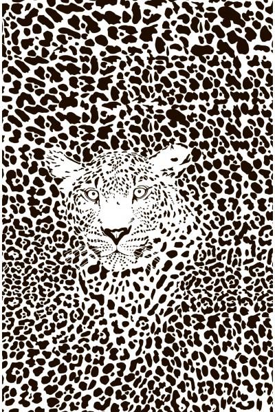 Принт Тигр