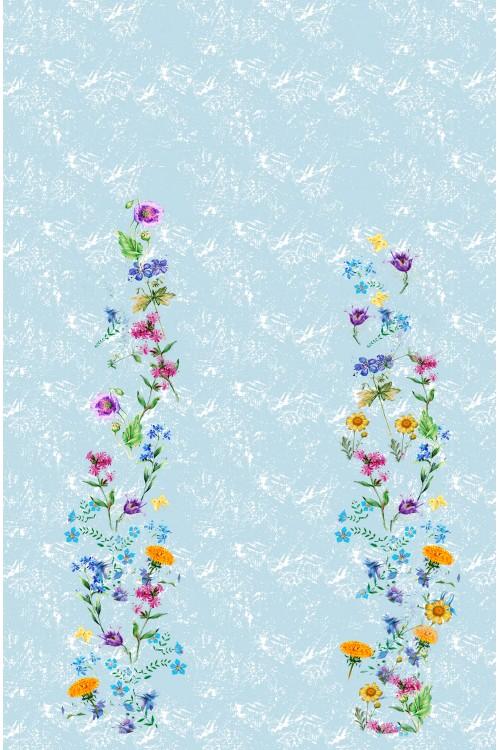 Принт Цветы I