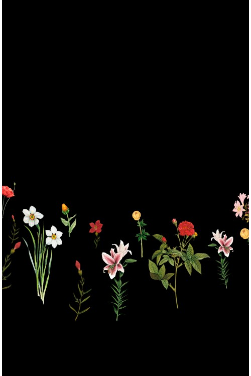 Принт Цветы
