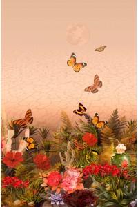 Принт Цветущая пустыня