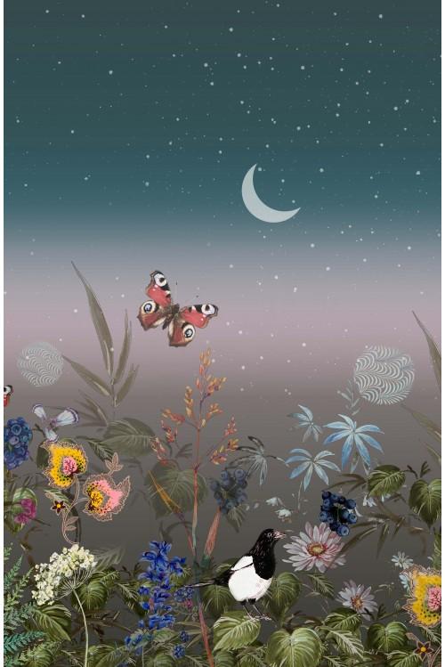 Принт Живая ночь (Бабочка)