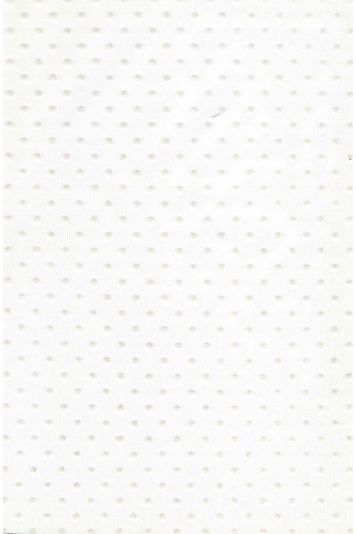 Фатин белый горох