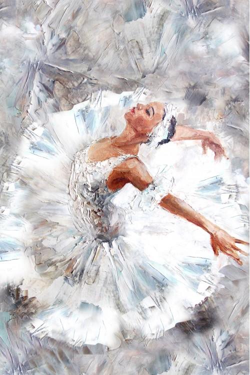 Принт Балерина