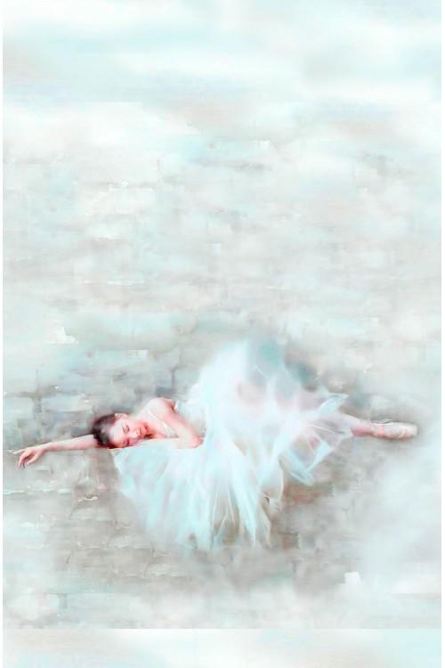 Принт Уставшая Балерина