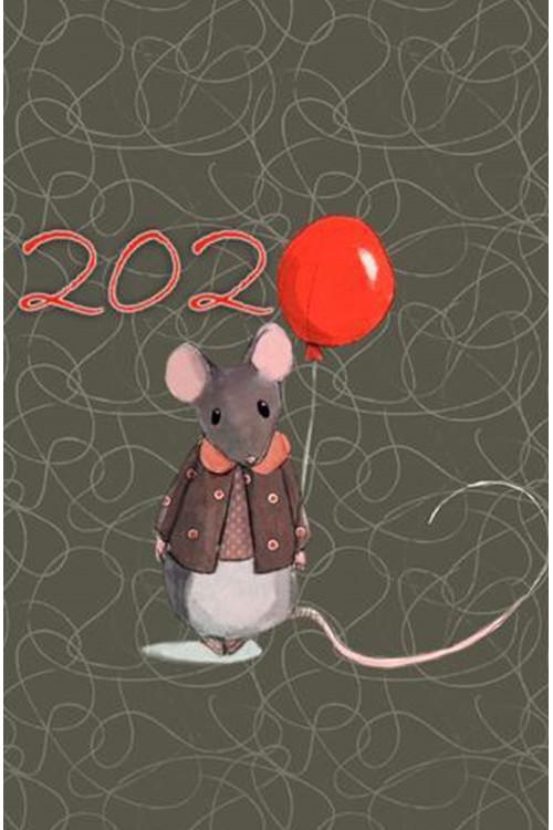Принт Мышка 2020