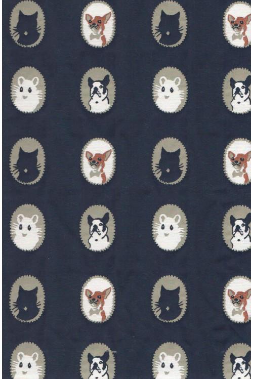 Жаккард Кошка с собачкой