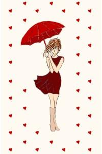 Принт Под дождем