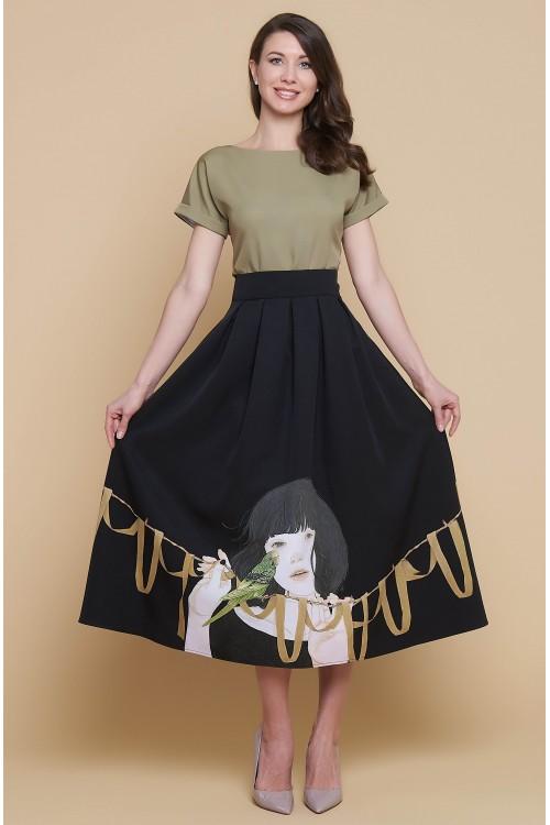 Платье Аленка (Девочка и попугай)