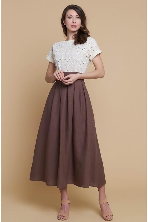 Платье Аленка (Лен)