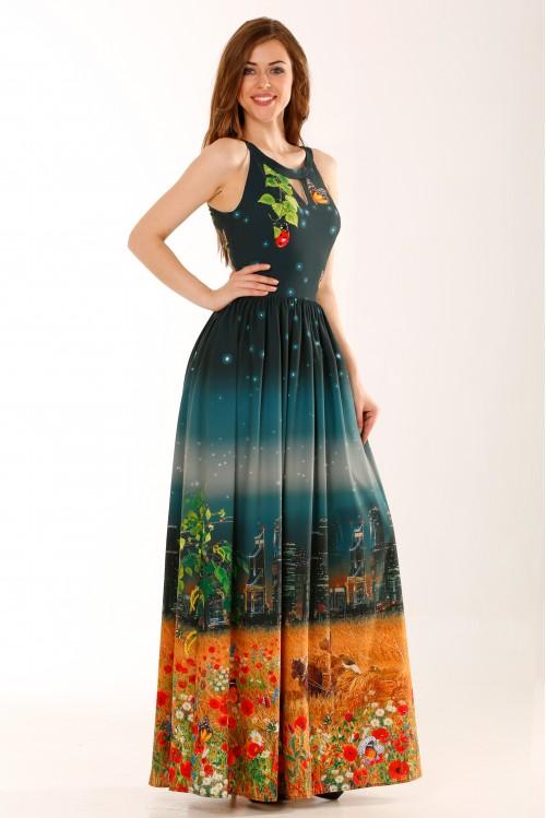 Платье Американка (Русское поле)