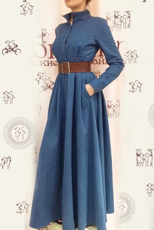 Платье Ангелина (Джинса)