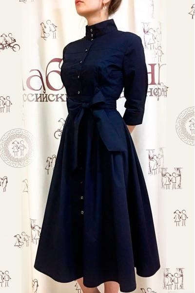 Платье Ангелина (Тёмно-синий)
