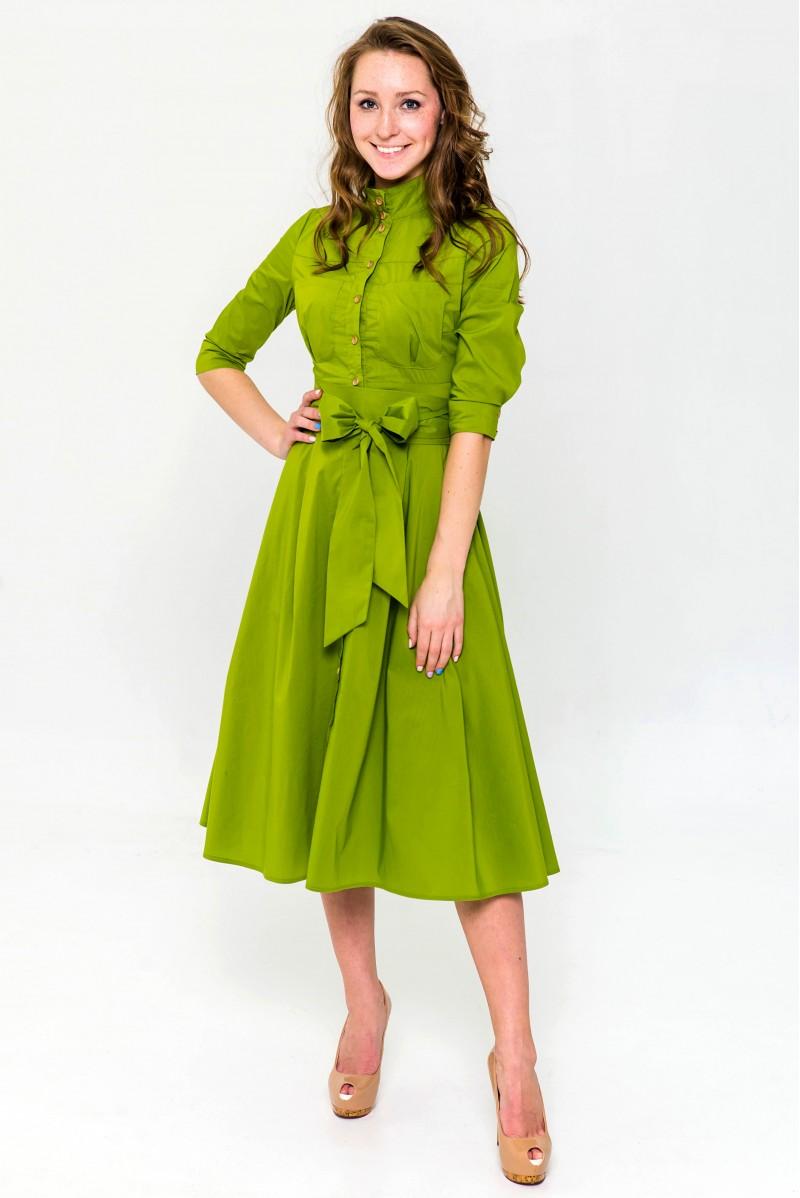e4c029857 Платье Ангелина (Салатовый)