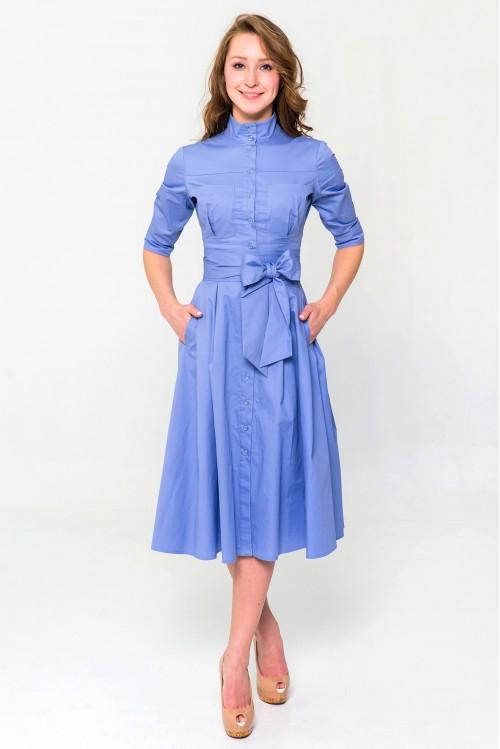 Платье Ангелина (Голубой)