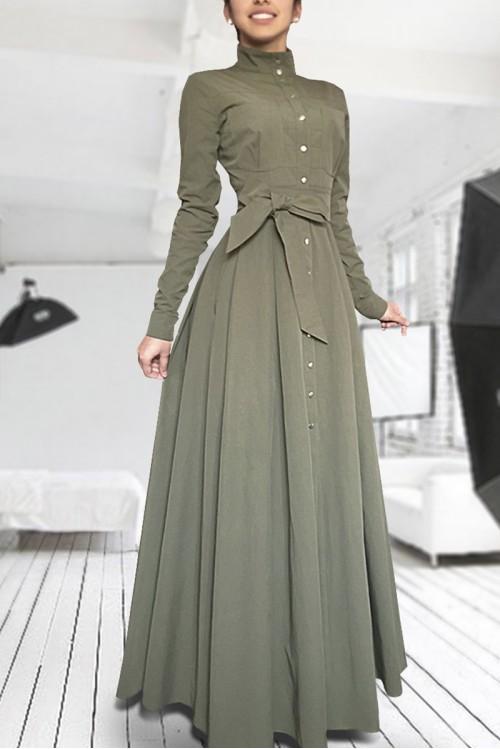 Платье Ангелина ( хаки)