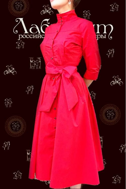 Платье Ангелина (красный)